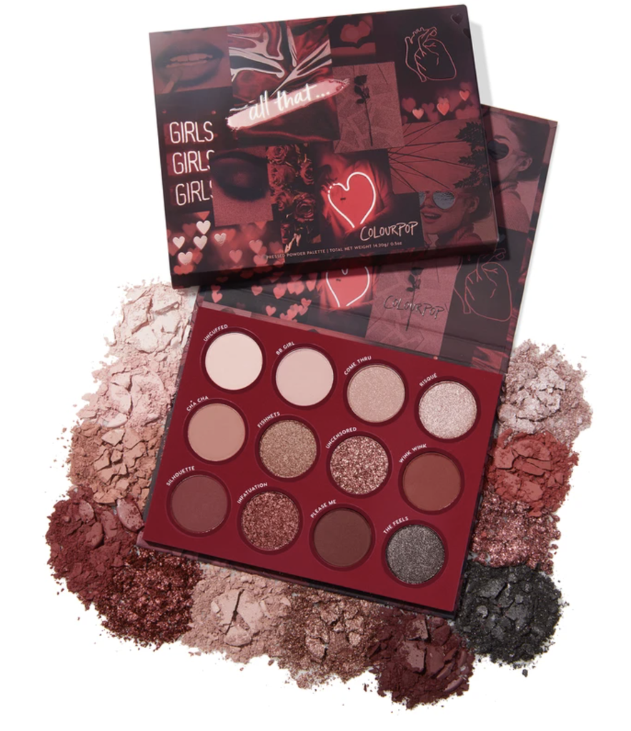 Paleta de sombras Colourpop All That