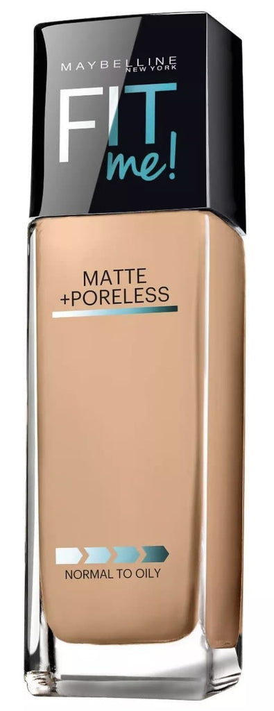 Base liquida Maybelline Fit Me Mat Matte Poreless - Eva Store
