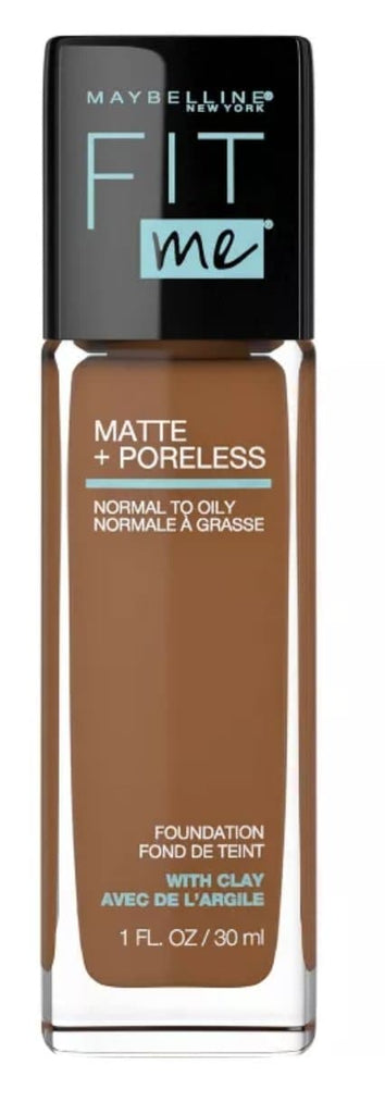 Base liquida Maybelline Fit Me Matte Poreless - Eva Store