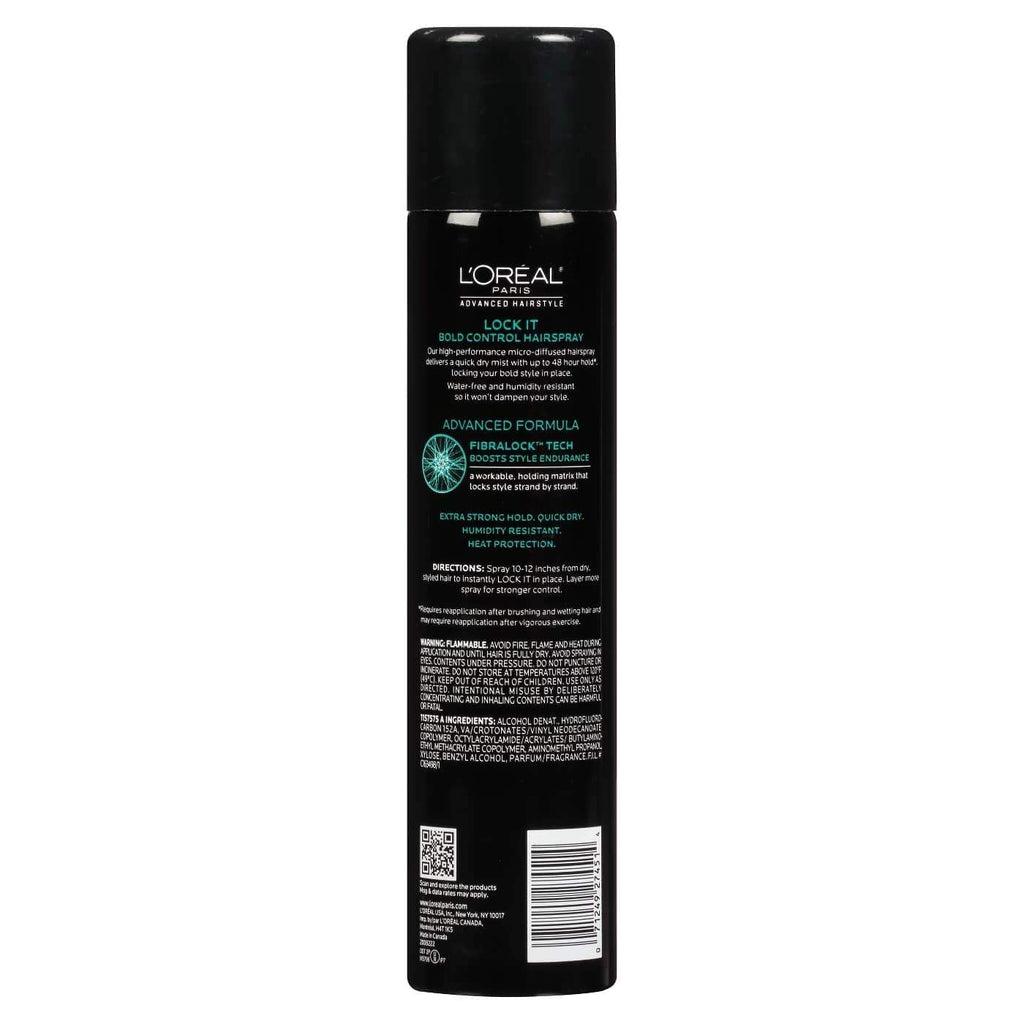 Fijador L'oreal Paris advanced Hairstyle Lock it - Eva Store