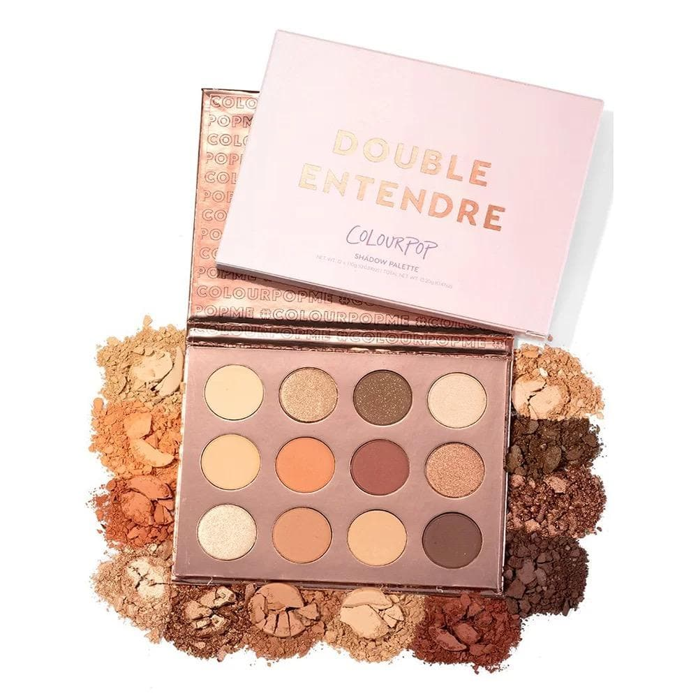 Paleta de sombras Double Entendre Colourpop - Eva Store