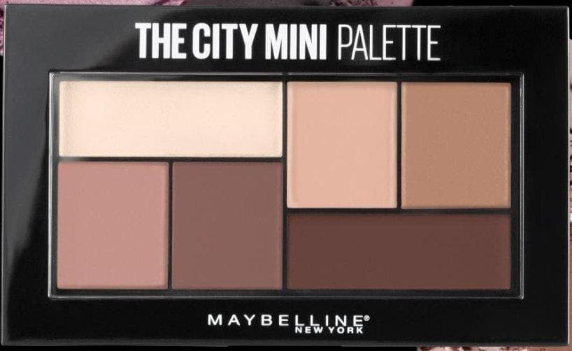 Paleta de sombras Maybelline The City Mini Palette - Eva Store