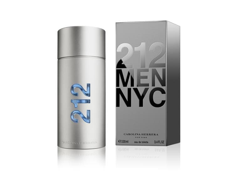 Perfume Carolina Herrera 212 Men NYC - Eva Store