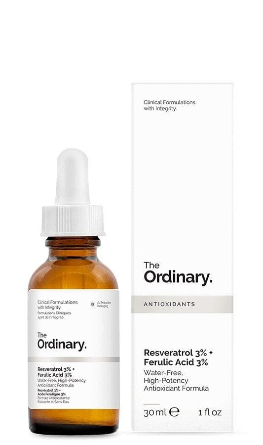Serum Antioxidante Resveratrol 3% + Ferulic Acid 3% The Ordinary - Eva Store