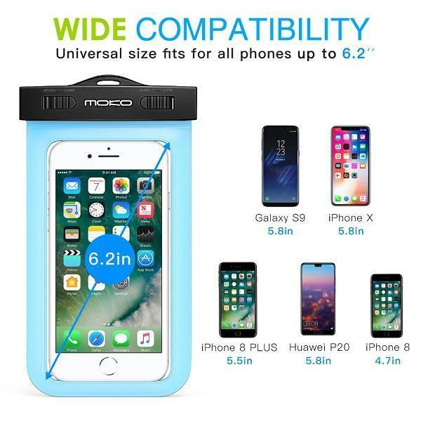 Waterproof Multifunction Phone Case,with Armband Feature and