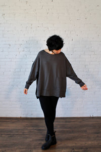 Bamboo French Terry Sharon Sweatshirt
