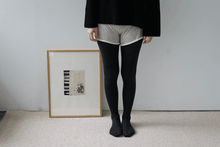 Load image into Gallery viewer, Nishiguchi Kutsushita, Merino, Made in Japan, Ethically Produced, Tights, Charcoal, Grey