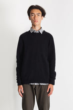 Load image into Gallery viewer, New Wool Crew Neck - Black