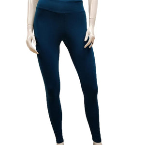 Gilmour, Ethically Made, Sustainable Loungewear, Bamboo, Made in Canada, Leggings, Moroccan Bluey