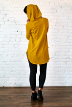 Load image into Gallery viewer, Gilmour, Ethically Made, Sustainable Loungewear, Made in Canada, Bamboo French Terry, Hoodie, Gold, Yellow
