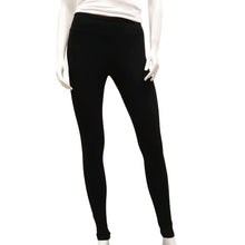 Load image into Gallery viewer, Gilmour, Ethically Made, Sustainable Loungewear,Made in Canada,  Bamboo, Leggings, Black