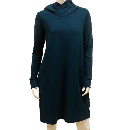 Bamboo French Terry Hooded Pocket Dress