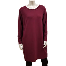 Load image into Gallery viewer, Bamboo French Terry Raglan Dress