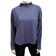 Load image into Gallery viewer, Bamboo French Terry Mock Neck Top