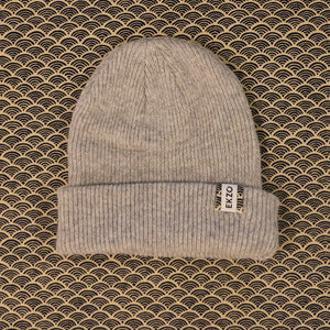 Ekzo, Ethically Made, Made in Japan, Sustainable, Merino Wool, Beanie, Grey