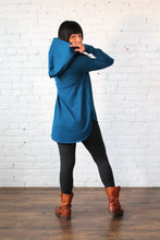 Load image into Gallery viewer, Gilmour, Ethically Made, Sustainable Loungewear, Made in Canada, Bamboo, French Terry, Hoodie, Blue