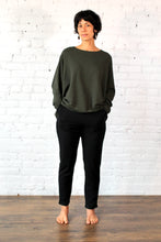 Load image into Gallery viewer, Gilmour, Ethically Made, Sustainable Loungewear, Bamboo, Made in Canada, French Terry, Sweatshirt, Charcoal Grey