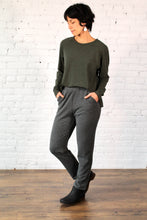 Load image into Gallery viewer, Gilmour, Ethically Made, Sustainable Loungewear, Bamboo, French Terry, Made in Canada, Pants, Trousers, Charcoal Grey