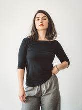 Load image into Gallery viewer, The Koko Crop Boatneck