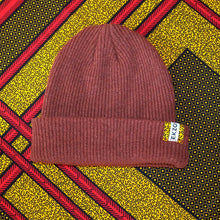 Load image into Gallery viewer, Ekzo, Ethically Made, Made in Japan, Sustainable, Merino Wool, Beanie, Maroon
