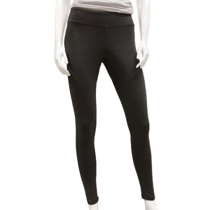 Made in Canada Bamboo Leggings by Gilmour - Dark Grey