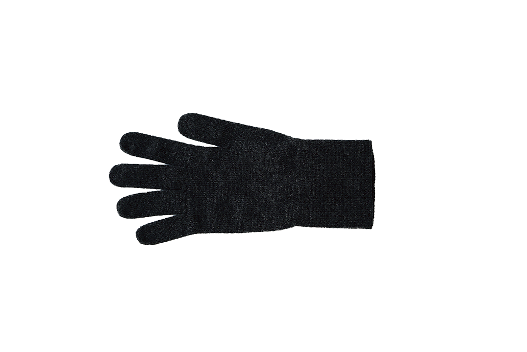 Nishiguchi Kutsushita, Merino, Made in Japan, Ethically Produced, Gloves, Charcoal, Grey