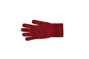 Nishiguchi Kutsushita, Merino, Made in Japan, Ethically Produced, Gloves, Red