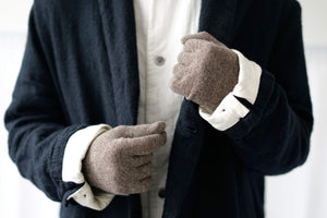 Nishiguchi Kutsushita, Merino, Made in Japan, Ethically Produced, Gloves