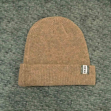 Load image into Gallery viewer, Ekzo, Ethically Made, Made in Japan, Sustainable, Merino Wool, Beanie, Olive