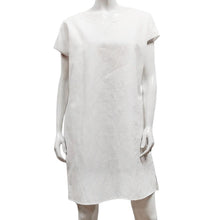 Load image into Gallery viewer, Gilmour, Ethically Made, Sustainable Loungewear, Made in Canada, Linen, Cotton, Pocket, Short Sleeve, Dress, White