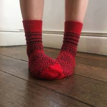 Load image into Gallery viewer, Wool Jaquard Socks