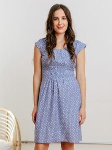 Artsy Traveler Dress - Chambray