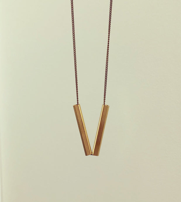 The Gisèle Square Necklace