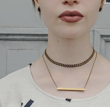 Load image into Gallery viewer, The Slik Necklace - H (short)