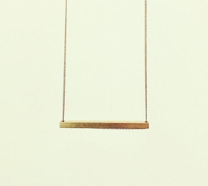 The Slik Necklace - H (short)