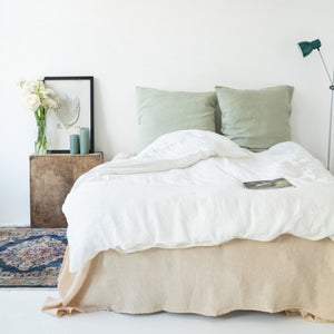 Washed Linen Duvet Cover - Queen