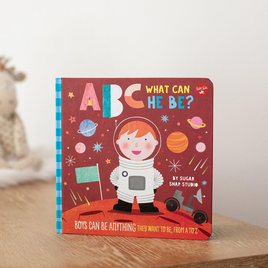 ABC for Me: ABC What Can He Be? Boys Can Be Anything They Want to Be-Hullabaloo Book Co.