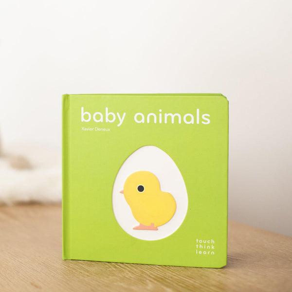 Baby Animals: TouchThinkLearn (Book Only)-Hullabaloo Book Co.