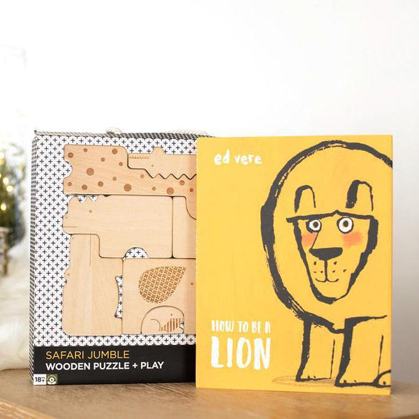 How to Be a Lion Gift Set-Hullabaloo Book Co.
