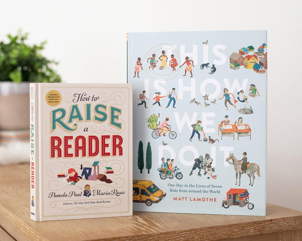 How to Raise a Reader and This is How We Do It-Hullabaloo Book Co.