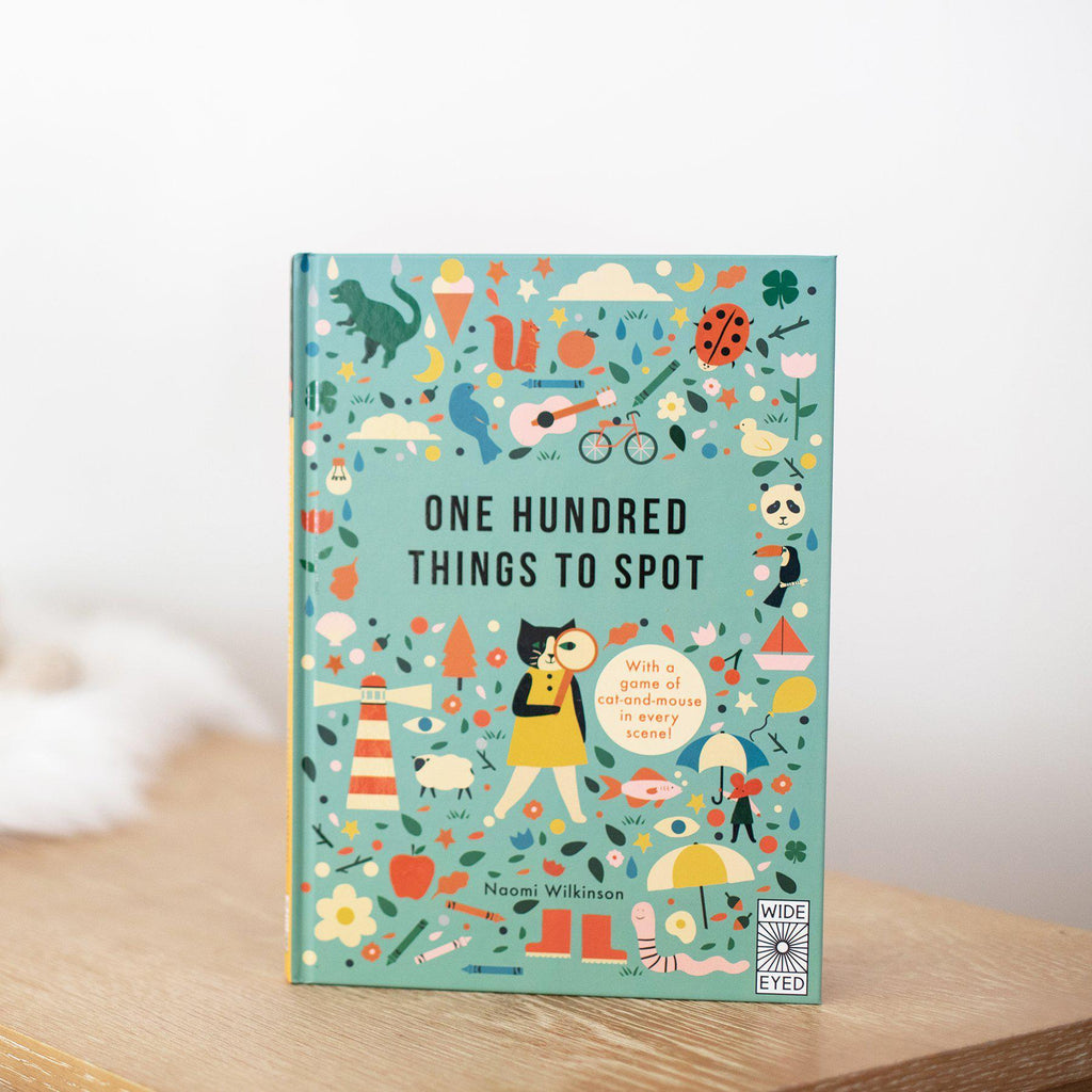 One Hundred Things to Spot (Book Only)-Hullabaloo Book Co.