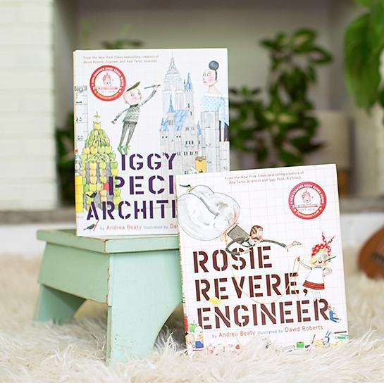 Rosie Revere, Engineer & Iggy Peck, Architect-Hullabaloo Book Co.