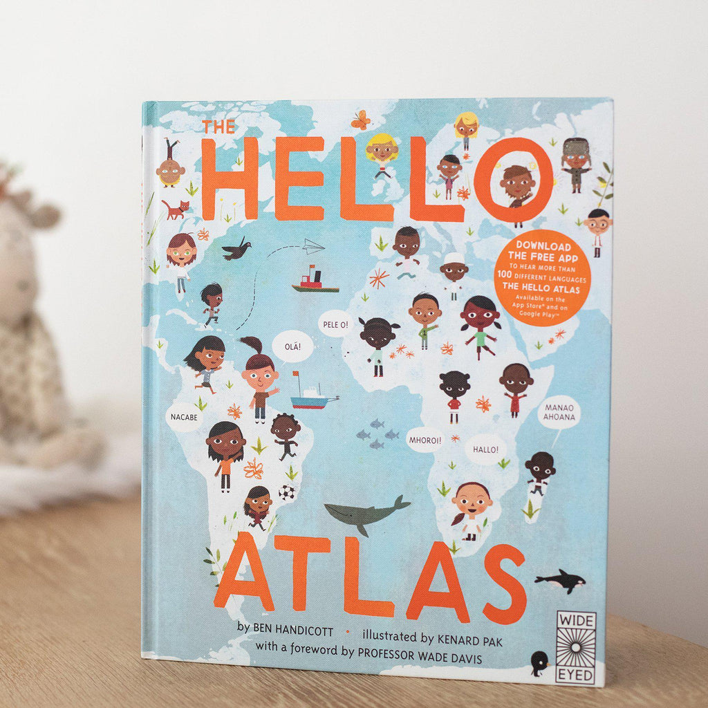 The Hello Atlas-Hullabaloo Book Co.