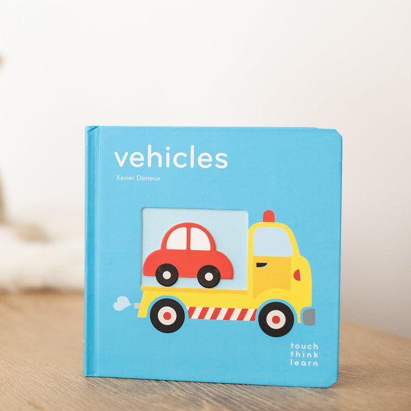 Vehicles: TouchThinkLearn-Hullabaloo Book Co.
