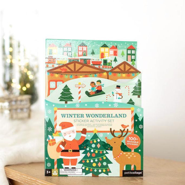 Winter Wonderland Reusable Sticker Set-Hullabaloo Book Co.