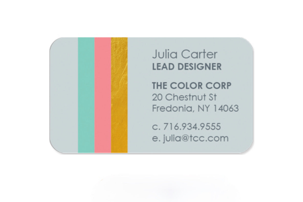 Personalized Business Cards by the DOZEN