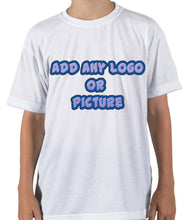 Load image into Gallery viewer, Personalized Youth Short Sleeve T-shirt (Unisex)