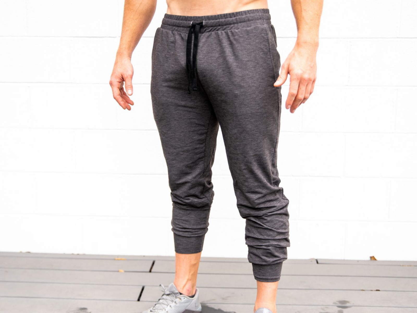 Heather Grey Unisex Joggers - 2POOD