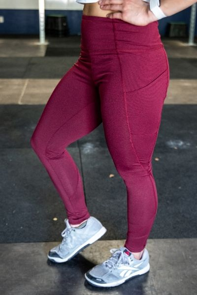 Lift and Lounge Wine Leggings 28""