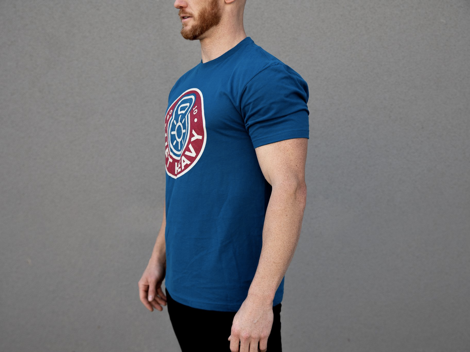 Royal Blue Lift Heavy T-Shirt - 2POOD